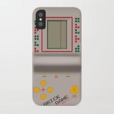 brick game Slim Case iPhone X