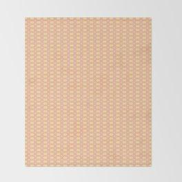 Pink and Yellow Diamonds Throw Blanket