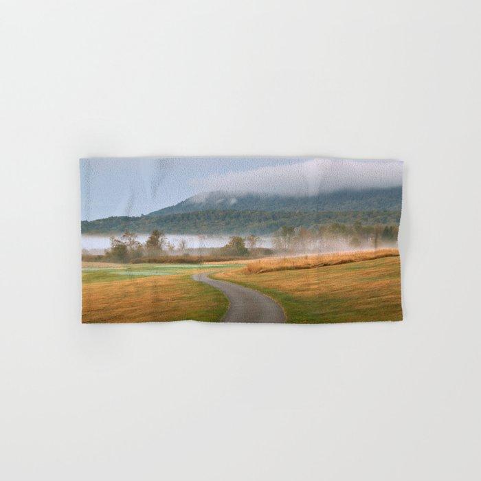 Misty Dawn Golf Course Hand & Bath Towel
