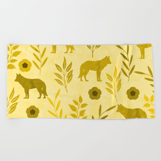 Forest Animal and Nature III Beach Towel