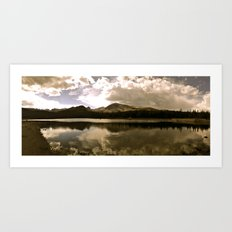 Brainard Lake, Colorado Art Print
