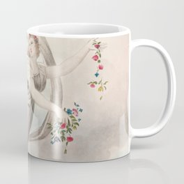 Robert John Thornton - Flora Dispensing Her Favours on the Earth Coffee Mug