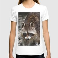racoon T-shirts featuring Racoon by MehrFarbeimLeben