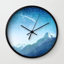 A Brilliant Star Wall Clock