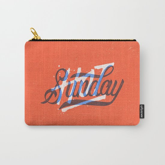 Hot Sunday Carry-All Pouch