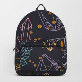 crystals and gemstones Backpack