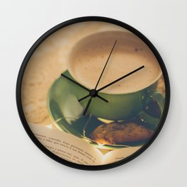 165 - Sunday morning Wall Clock