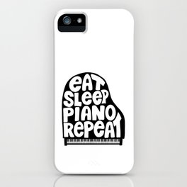 Piano Lovers Collection - B&W iPhone Case