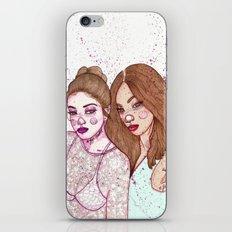 Gigi Hadid & Jourdan Dunn Maybelline NY   iPhone & iPod Skin