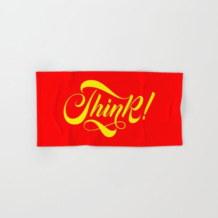 Think! Hand & Bath Towel