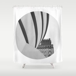 NYC ... Art Museum Shower Curtain