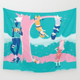 Team 7 Wall Tapestry