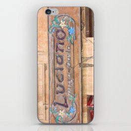 Luciano's Pizza iPhone Skin