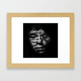 Missing light Framed Art Print