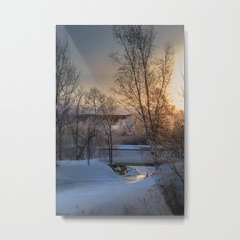 Channel View Metal Print