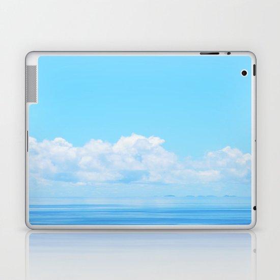 Pacific blues Laptop & iPad Skin