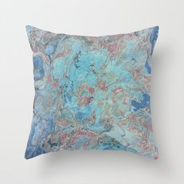 Planet Gracenerth Abstract Throw Pillow
