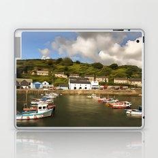 Porthleven Cornwall Laptop & iPad Skin