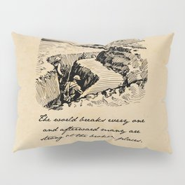 A Farewell to Arms - Hemingway Pillow Sham