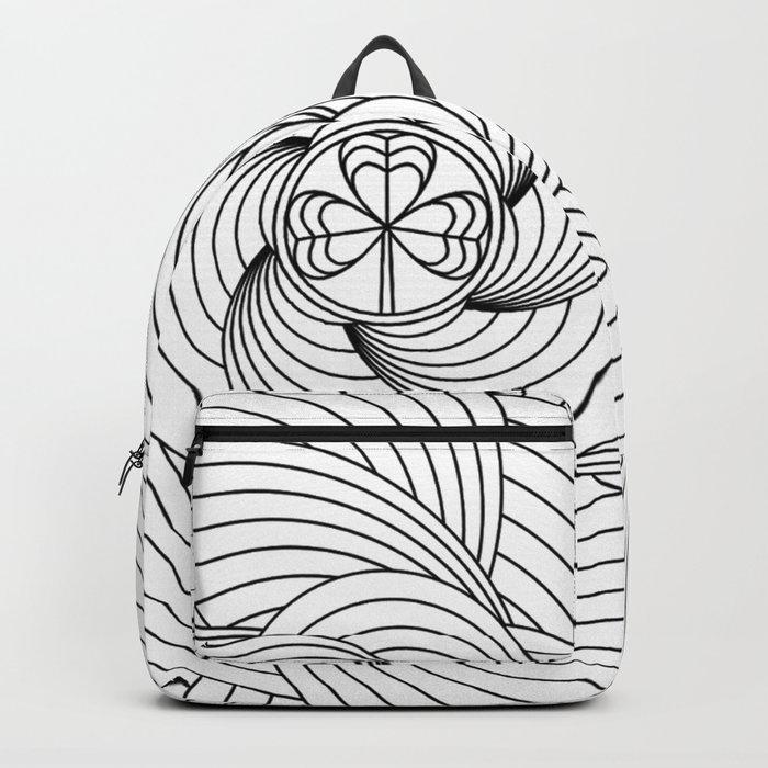 Mandala circle Backpack