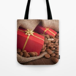 III - Bag with treats, for traditional Dutch holiday 'Sinterklaas' Tote Bag