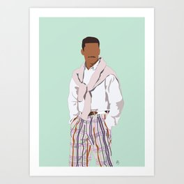 Carlton Banks - Stay Fresh Art Print