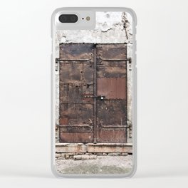 Special Edition Baja Door (Decay 1) Clear iPhone Case