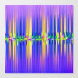 Seismic Shift Dusk Canvas Print