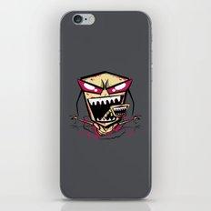 Chest burst of Doom iPhone & iPod Skin