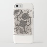 sport iPhone & iPod Cases featuring Sport crow by KRADA ZHAN ART