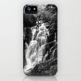 shiraito falls, fukuoka, Japan june 2018 (film photography) iPhone Case