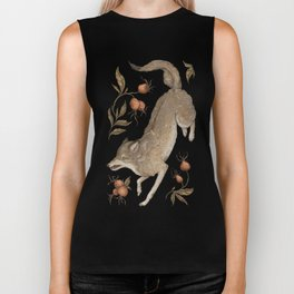 The Wolf and Rose Hips Biker Tank