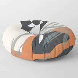 Abstract Female Figure 21 Floor Pillow