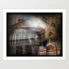 The Pantheon Rome Italy Art Print