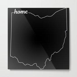 Ohio State USA Pride Home Metal Print