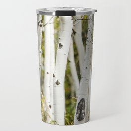 Picture Aspen Trees Travel Mug