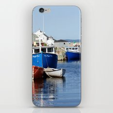 Lobster Boats iPhone & iPod Skin
