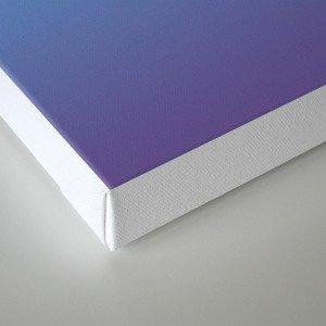 Ombre Pink Blue Ultra Violet Gradient Pattern Canvas Print