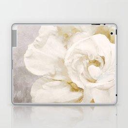 Petals Impasto Alabaster Laptop & iPad Skin