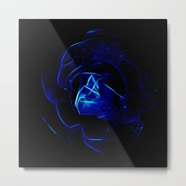 Shocking Blue Metal Print