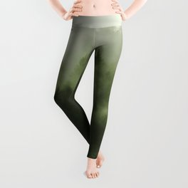 Drift - Green Mountain Forest Leggings