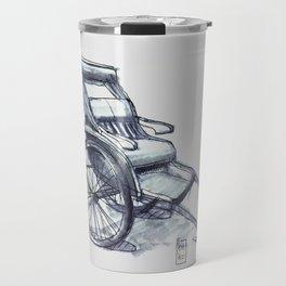 rickshaw japan Travel Mug