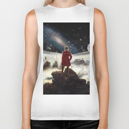 Wanderer above the sea of SWAG Biker Tank