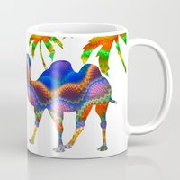 camel Mugs featuring Camel by haroulita