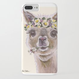 Holly The Alpaca, Alpaca Art iPhone Case