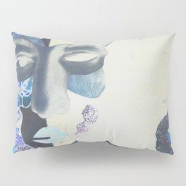 portrait: people have sides & sometimes we hide them Pillow Sham