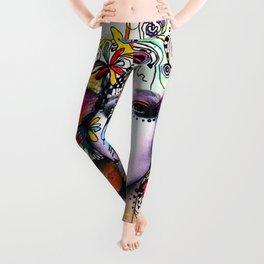 Fantasy Flower Girl Leggings
