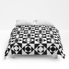 Squares in Squares Comforters