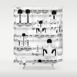 Spinal Chords from Wililam Tell Shower Curtain