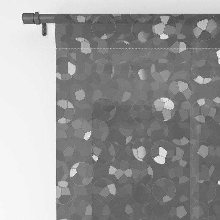 Crystal Bling Strass G283 Sheer Curtain